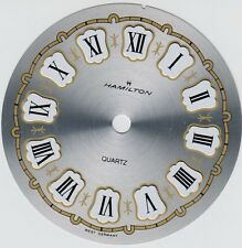 Round Small Clock Dial 3 3/8 DIA W Germany Raised Roman buy in bulk save $$