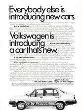 1985 VW Volkswagen Jetta Original Advertisement Print Art Car Ad J664