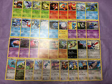 COMPLETE (43) BOUNDARIES CROSSED UNCOMMON Nonholo Card Set MINT-Skarmory Skyla
