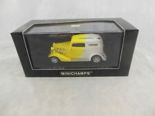 """Minichamps 400 142262 American Hot Rod in Yellow & White """"Karcher"""" 1 of 2005"""