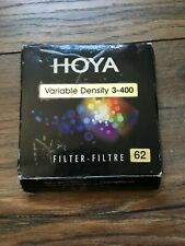 Hoya 62mm Variable ND filter 3-400-great Condition