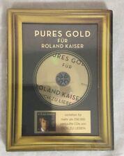 Pures Gold Fur Roland Kaiser Music CD Dich Zu Lieben Germany Brand New Sealed