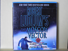 The Moscow Vector 6 by Patrick Larkin and Robert Ludlum (2007, CD, Abridged,...