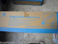 Genuine KONICA MINOLTA CYAN TONER Magicolor 4600 4650EN 4650DN 4690MF A0DK431