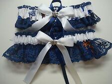 Multi-color Handmade University of Kentucky Wildcats lace Wedding Garter.