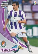 N°309 PEDRO LOPEZ MUNOZ # REAL VALLADOLID CARD PANINI MEGA CRACKS LIGA 2008
