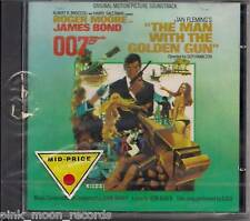 CD THE MAN WITH THE GOLDEN GUN 007 JAMES BOND SEALED