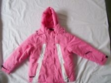WAVEZONE GIRLS SZ 8 PINK SKI/SNOWBOARDING JACKET/COAT With HOOD