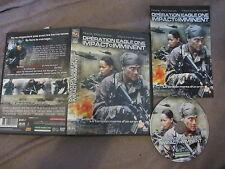 Opération Eagle One: Impact imminent de Henry Crum (Mark Dacascos), DVD, Guerre