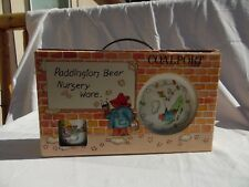 PADDINGTON BEAR NURSERY WARE SET 1984 COALPORT