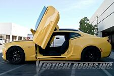 Chevrolet Camaro 2016-2019 Vertical Doors INC. Bolt on Lambo door kit , MADE USA
