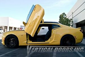 Chevrolet Camaro 2016-2020 Vertical Doors INC. Bolt on Lambo door kit - IN STOCK