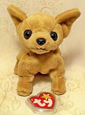 Ty Beanie Baby - Tiny Chihuahua Dog Retired 1998 Collectible Puppy Plush Toy