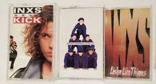 LOT OF 3 INXS CASSETTE  TAPES ~ LISTEN LIKE THEIVES WELCOME TO WHEREVER YOU ARE