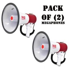 Pack of (2) Pyle PMP52BT BLUETOOTH 50W Megaphone Speaker w/ AUX, USB, SD Inputs