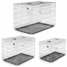Animal Cage Dog Cage Puppy Area Pet Transport Car Box Foldable Carrier Kennel