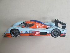 Scalextric Hornby slot car Lola Aston Martin Gulf F&B light 1/32 runs well Ec 19