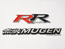 For Honda Mugen Rr Emblem Logo Combo Badge Sicker Civic Accord Si Sir Acura Fits 2012 Honda Civic