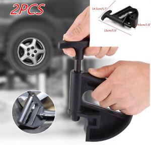 2Pcs Manual Portable Tire Changer Bead Clamp Hand Tire Wheels Bead Breaker Valid