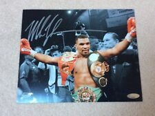Mike Tyson Signed Picture with clear protective cover & COA