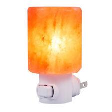 Natural Himalayan Salt Lamp Night Light Crystal Lamp Hand Carved Wall Light