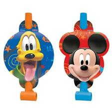 Mickey Partytime Birthday Favor Blowouts Party Supplies NEW