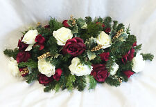 "30"" Christmas Centerpiece Swag Silk Wedding Flowers Arch Chuppah Table Runner"