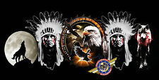 """American Indian, Wildlife Eagle, Dreamcatcher """"custom personalize License Plate"""""""
