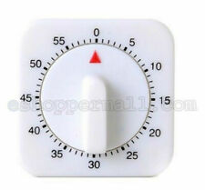 1 PC 1 Hour Long Ring Bell Alarm Loud 60-Minute Kitchen Cooking Timer Mechanical