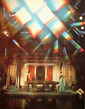 HIGH ROLLERS clipping Alex Trebek & Ruta Lee color photo 1970s game show TV
