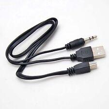 USB 2.0 Stecker auf Mini Klinkenstecker 3.5 mm Audio Daten Kabel 50cm 3299
