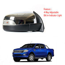 Right Side Power Door Mirror Chrome Fit Ford Ranger T6 Pickup 2012-2014