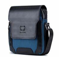 Men's Genuine Leather Handbag Crossbody Laptop Shoulder Bag Messenger Briefcase