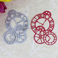 Clock Cutting Dies For Scrapbooking DIY Album Paper Cards Decor Embossing Folder