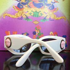 GIANNI VERSACE white Mod 420/E Col 85P sunglasses as seen on Rihanna
