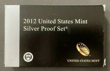 Vintage 2012 S, San Francisco, United States Mint Silver Proof Set, OGP & COA