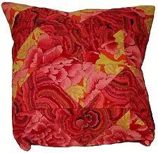 Patchwork copri cuscino fatto a mano, tessuto americano, handmade