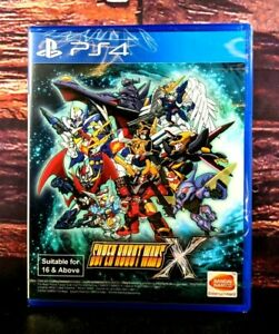 Super Robot Wars X - PS4 - Sony PlayStation 4 - Brand NEW - Sealed