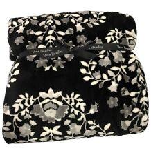 """Vera Bradley 12408-M66 Micro Fleece Throw Blanket 80"""" x 50"""" - Chandelier Noir"""