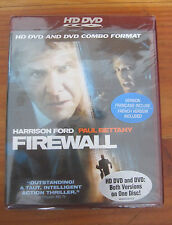 Firewall (HD DVD, 2006, HD-DVD/DVD Combo) HARRISON FORD PAUL BETTANY NEW SEALED