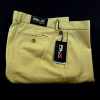 Ralph Lauren RLX Mens Golf Performance Moisture Wicking Golf Pants Khaki