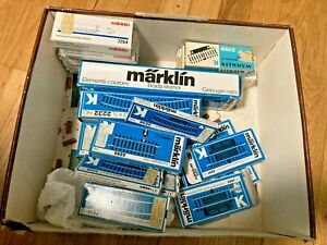 Marklin Large Lot K Track Curvew Straight Circuit Switch Relay Contact NOS
