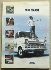 FORD TRANSIT HERITAGE Van Commercial Vehicles Press Media Pack Photos 2000