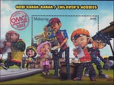 Malaysia 2012 Children's Hobbies M/S MNH stamp week