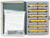 N Scale Kato 106-014 UP Union Pacific Passenger 6-Car Set w/ Custom Lighting