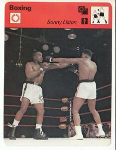 SONNY LISTON Boxing Champion Boxer 1979 SPORTSCASTER CARD 53-09 vs Muhammad Ali