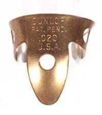 "2-Pack of Dunlop Brass Fingerpicks - .020"""