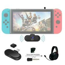 New ROUTE+Wireless Bluetooth Adapter+Game Voice Chat aptX for Nintendo Switch 13