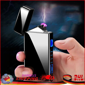 Feuerzeug Elektrisch Arc Plasma Lighter USB Lichtbogen Sturm Aufladbar Winddicht