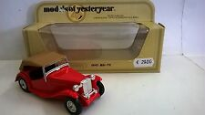 MATCHBOX 1:35 AUTO DIE CAST MG-TC 1945 ROSSO ART  Y-8  Y8